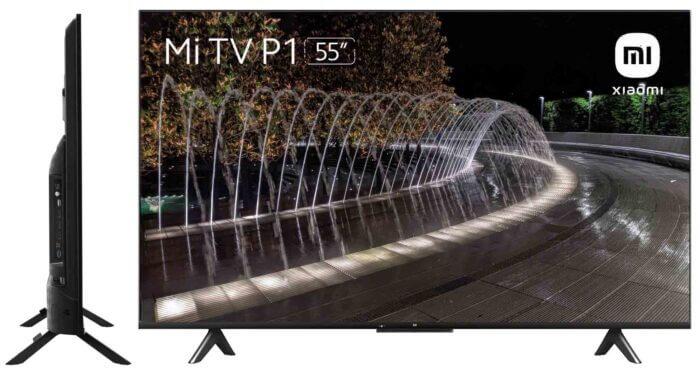 Thiết kế Xiaomi Mi TV P1