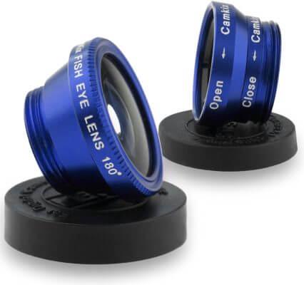 Bộ ống kính 3 trong 1 CamKix Universal