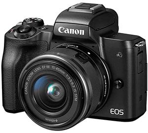 Máy ảnh du lịch Canon EOS M50