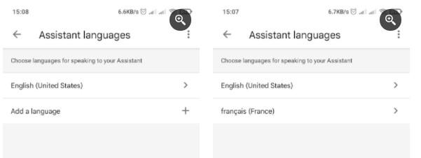 Trợ lý Google với nhiều ngôn ngữ được đặt