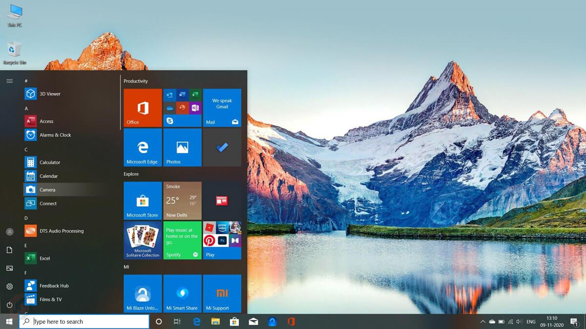 Hệ điều hành Mi Notebook 14 e-Learning Edition