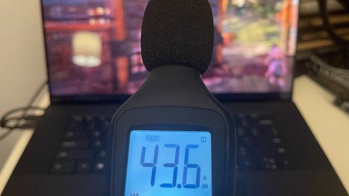 tiếng ồn dell xps 17 9710 2021