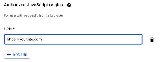 Nguồn gốc JavaScript nhập URL