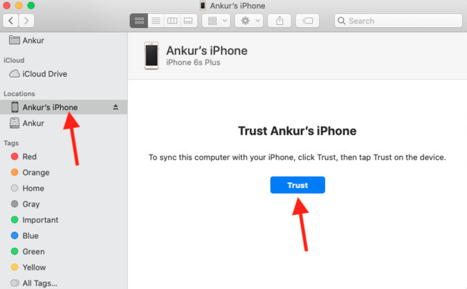 Tin tưởng iPhone và Mac để kết nối chúng