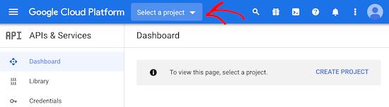 Chọn dự án mới của Google