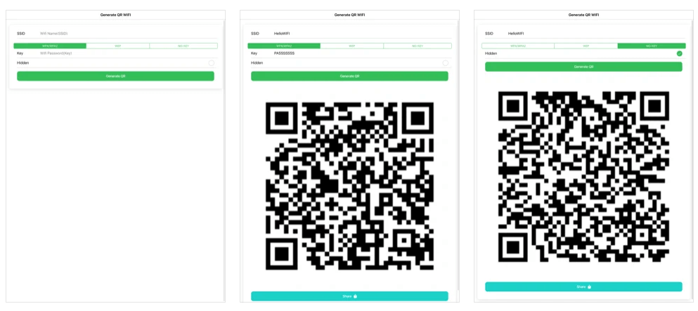 Trình tạo mã QR cho iOS