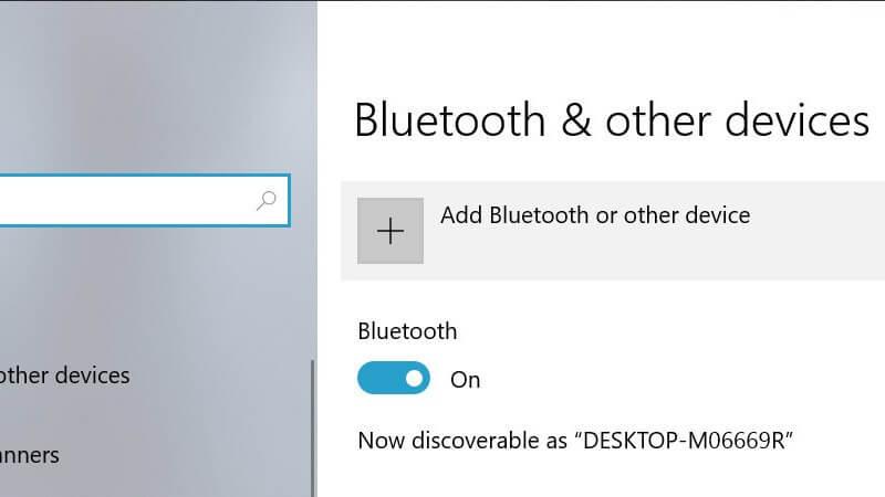 Cài đặt hiển thị Windows 10