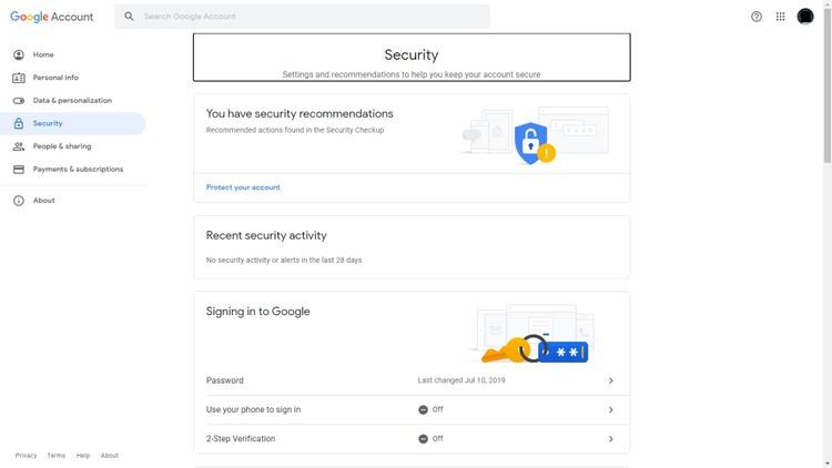 Lời nhắc của Google Sử dụng điện thoại của bạn để đăng nhập