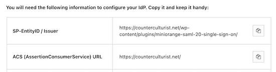 Sao chép ID thực thể và URL ACS