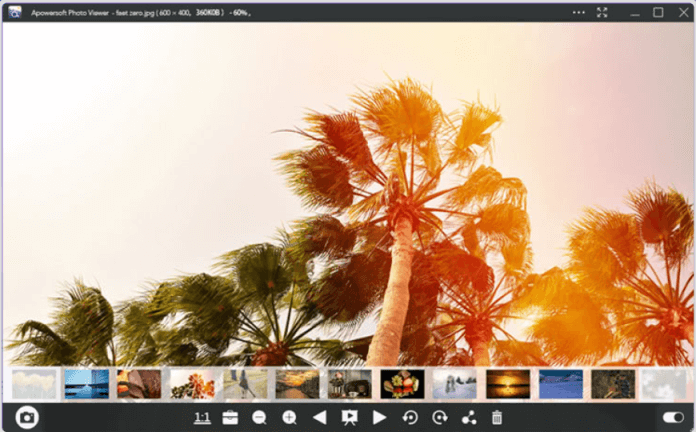 Apowersoft Photo Viewer dành cho HĐH Windows 11