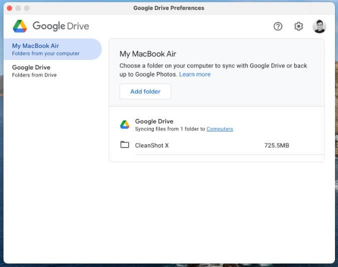 đồng bộ thư mục mac trên google drive