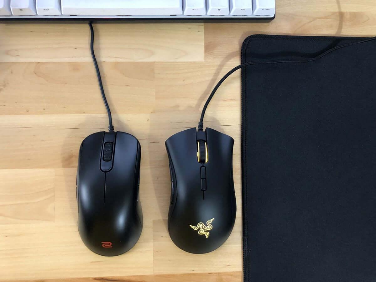 Chuột thuận cả hai tay và chuột ergonomic