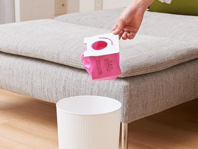 Túi bụi: không tiếp xúc trực tiếp với bụi, vệ sinh và tiện lợi hơn