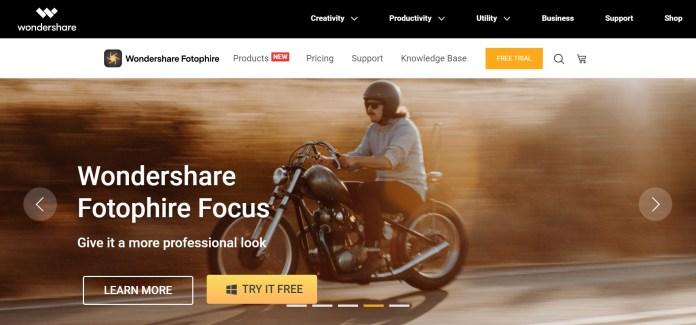 Trình xem hình ảnh Wondershare Fotophire dành cho HĐH Windows 11