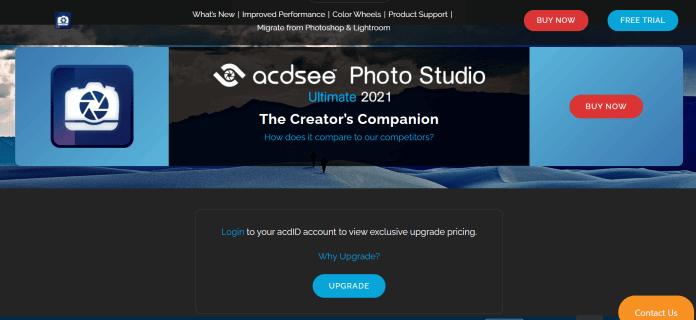 ACDSee Photo Studio dành cho HĐH Windows 11