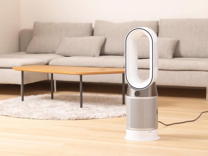 """Dyson """"tinh khiết"""": xoay linh hoạt 350 độ, có chức năng sưởi ấm"""