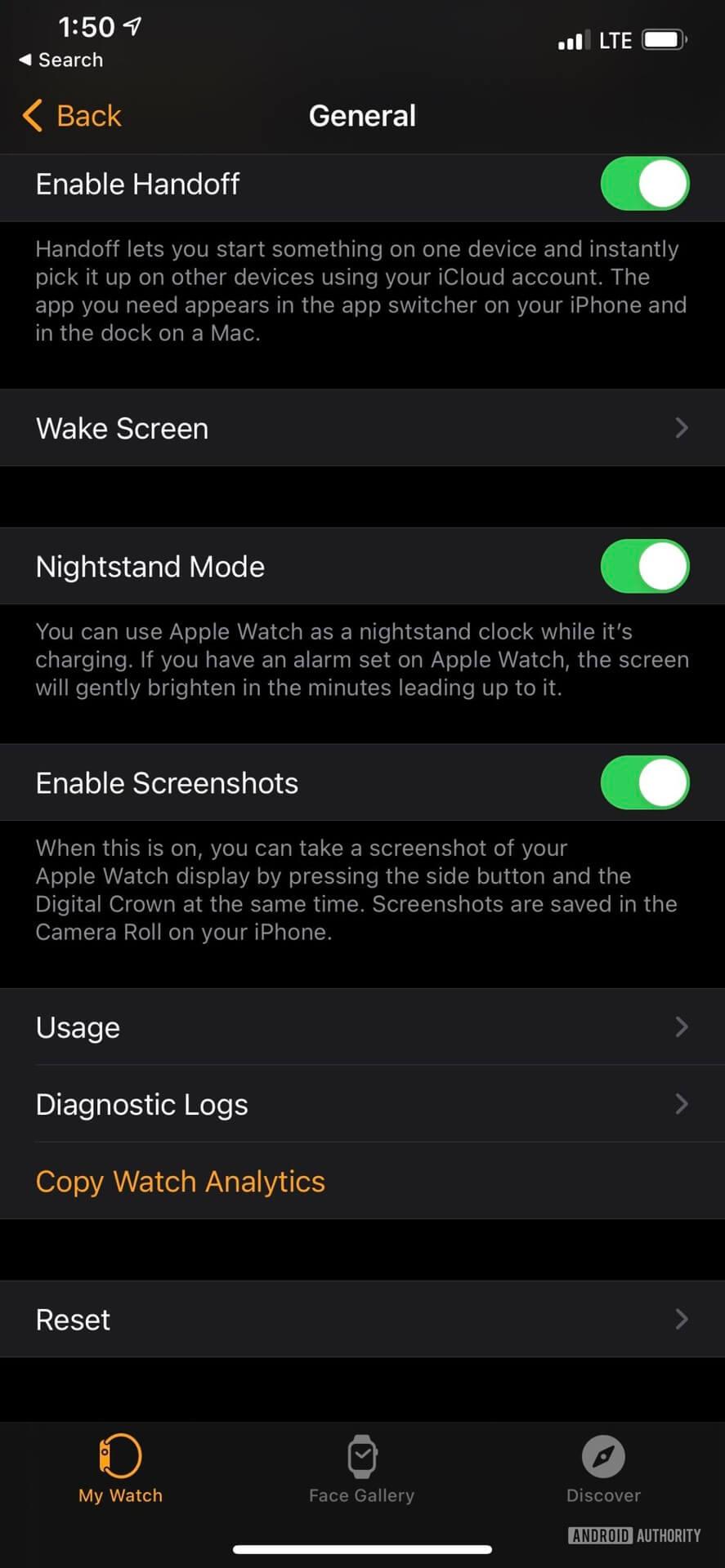 Ảnh chụp màn hình iPhone minh họa cách đặt lại Apple Watch từ iPhone