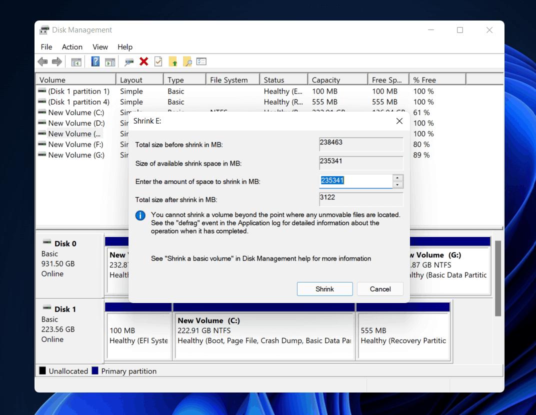 Cách khởi động kép Windows 11 với Windows 10: Hướng dẫn từng bước