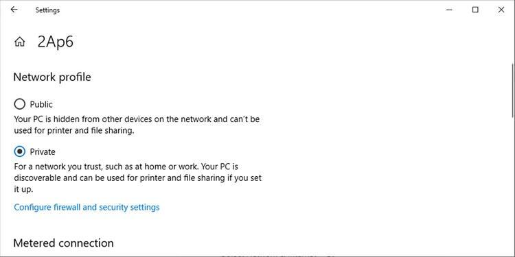 Cài đặt cấu hình mạng trong Windows 10
