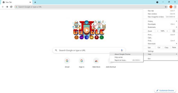 Đang cập nhật-Chrome-Từ-Trình duyệt