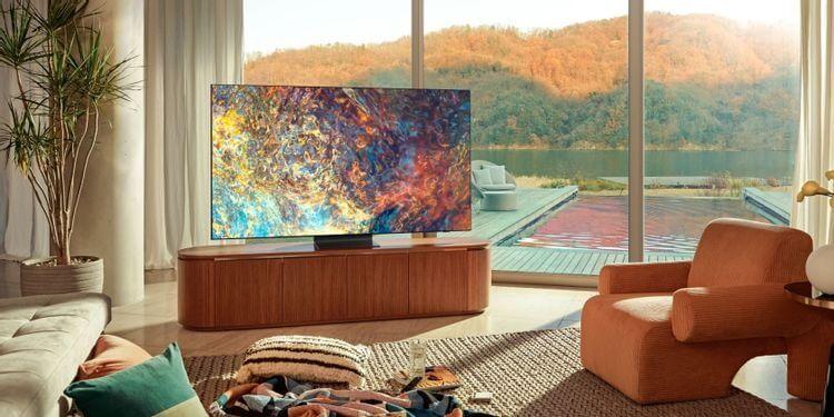 Samsung Neo QLED TV trong phòng khách