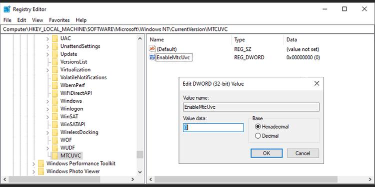 Trình chỉnh sửa sổ đăng ký