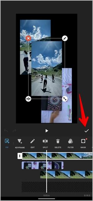 Instagram Video Collage InShot App PiP Save