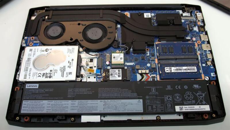 Hệ thống làm mát Lenovo IdeaPad Gaming 3