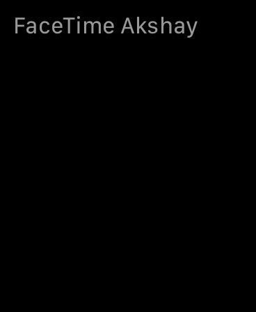 FaceTime Akshay