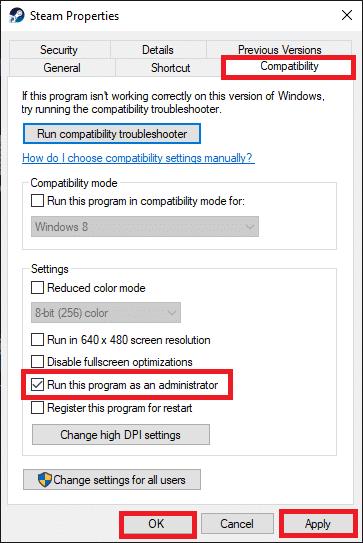 Cuối cùng, nhấp vào Áp dụng rồi OK để lưu thay đổi.  Sửa lỗi không có âm thanh trên trò chơi Steam