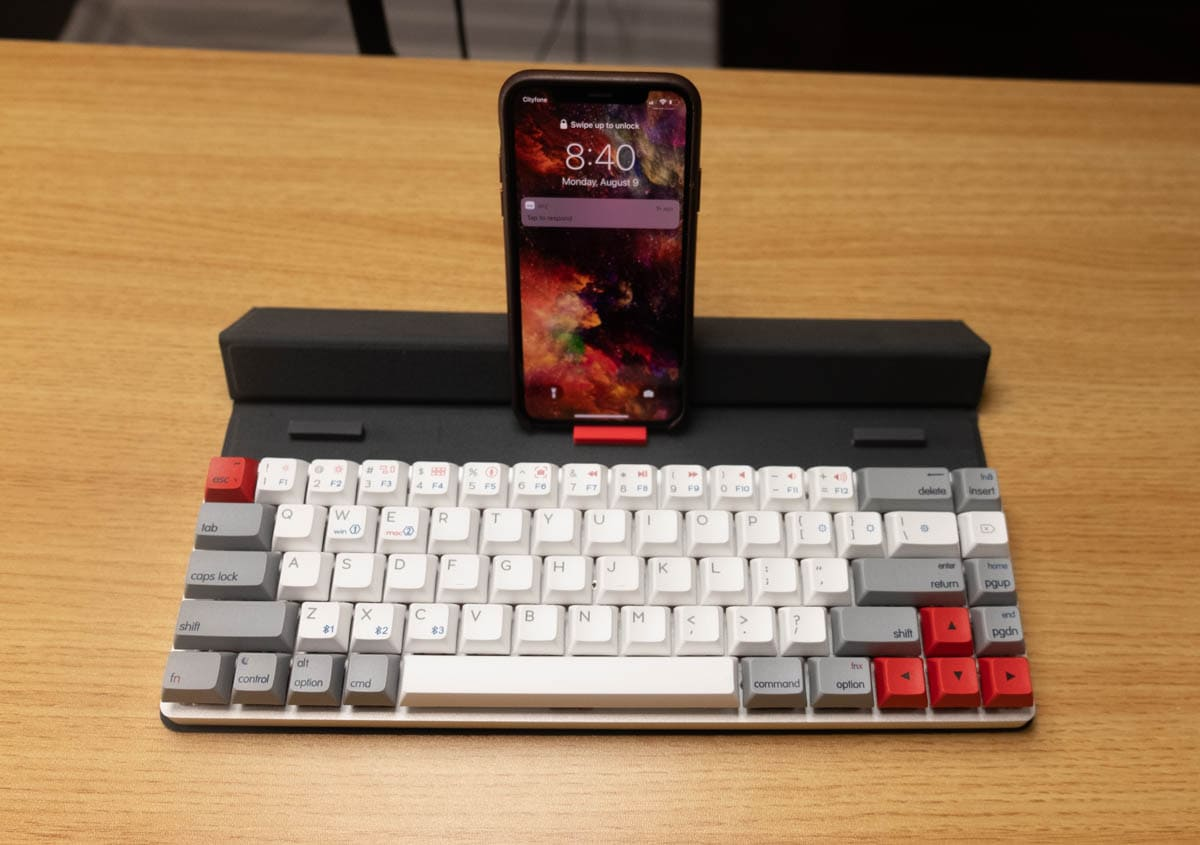 Epomaker NT68 - Sử dụng iPhone