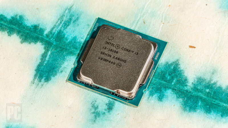 Intel Core i3-10100 hàng đầu