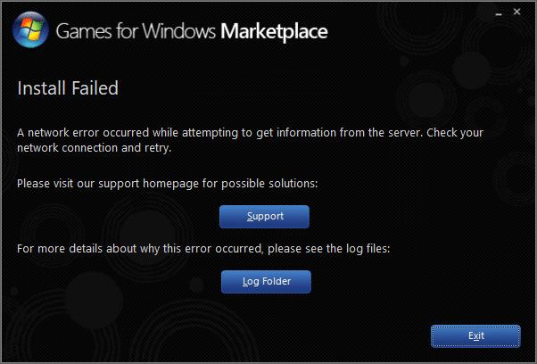 Đã xảy ra lỗi mạng khi cố gắng lấy thông tin từ máy chủ.  Kiểm tra kết nối mạng và thử lại
