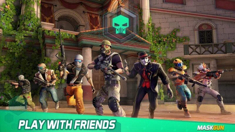 trò chơi bắn súng nhiều người chơi android