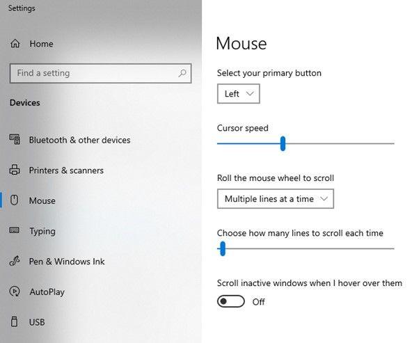 Sửa lỗi chuột trong hệ điều hành Windows