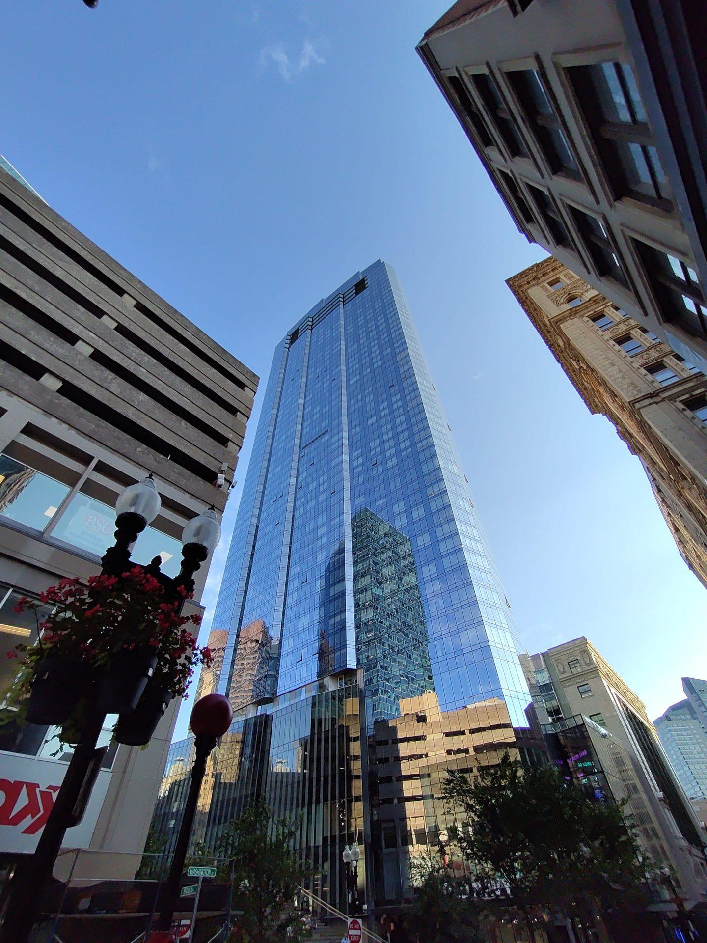 Hình ảnh chụp Boston trên ZTE Axon 30