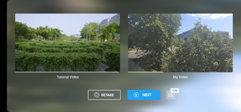 DJI Mimo Shot Guides Ảnh chụp màn hình 2