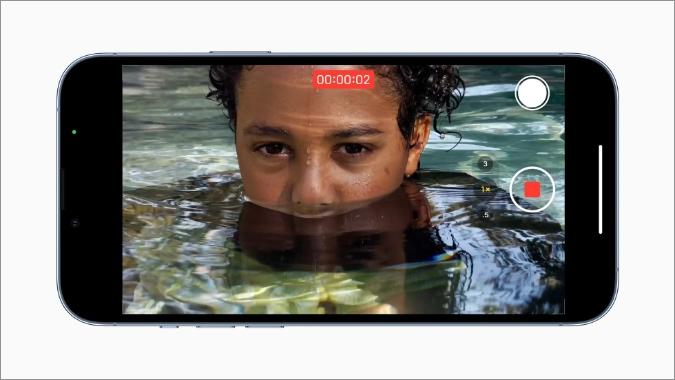 video điện ảnh trên iPhone 13 pro