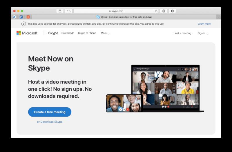 Ứng dụng Skype cuộc gọi trực tuyến miễn phí