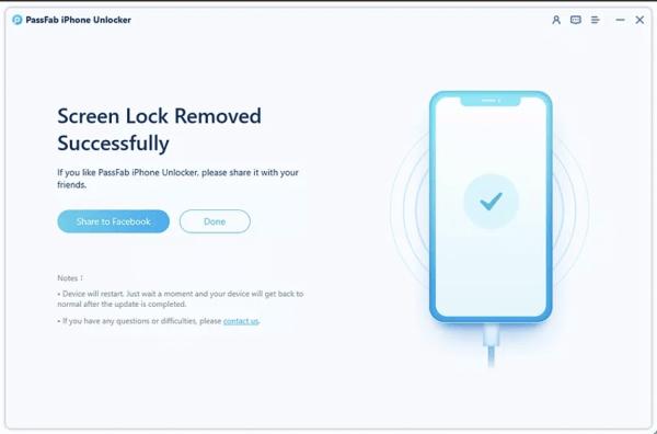 PassFab iPhone Unlocker Bước 5