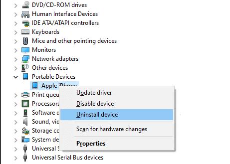 Cập nhật trình điều khiển của Apple.  iPhone không hiển thị trong máy tính của tôi