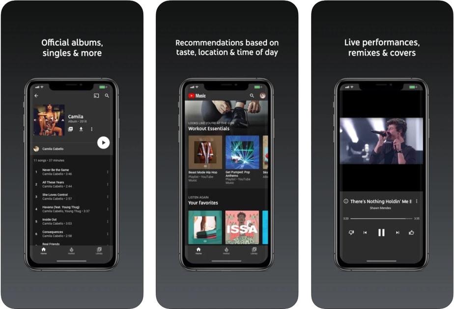 ứng dụng chơi nhạc cho iphone