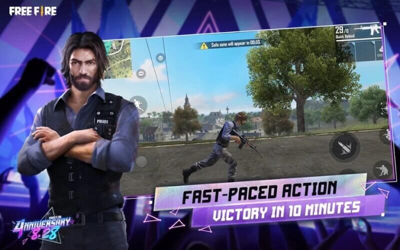 trò chơi bắn súng sinh tồn android