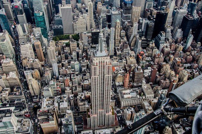 Thành phố Hoa Kỳ nhìn từ trên cao