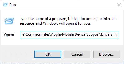 Nhấn các phím Windows + R và mở lệnh Run.