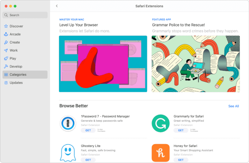 Sử dụng các ứng dụng của bên thứ ba trên Mac App Store