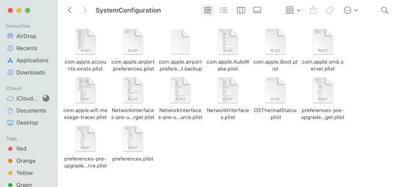 Tìm kiếm các tập tin.  Tại sao Internet trên máy Mac của tôi lại quá chậm.