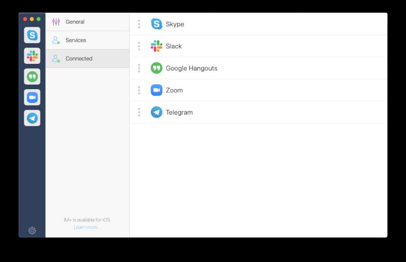 trò chuyện tin nhắn Mac Google