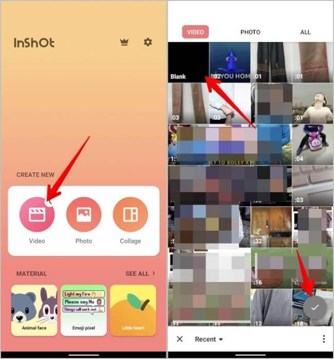 Instagram Ghép ảnh Video InShot Ứng dụng Thêm Video