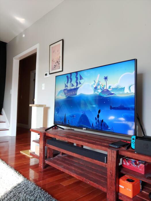 Ảnh truyền hình trong nhà từ Kyocera Duraforce Ultra